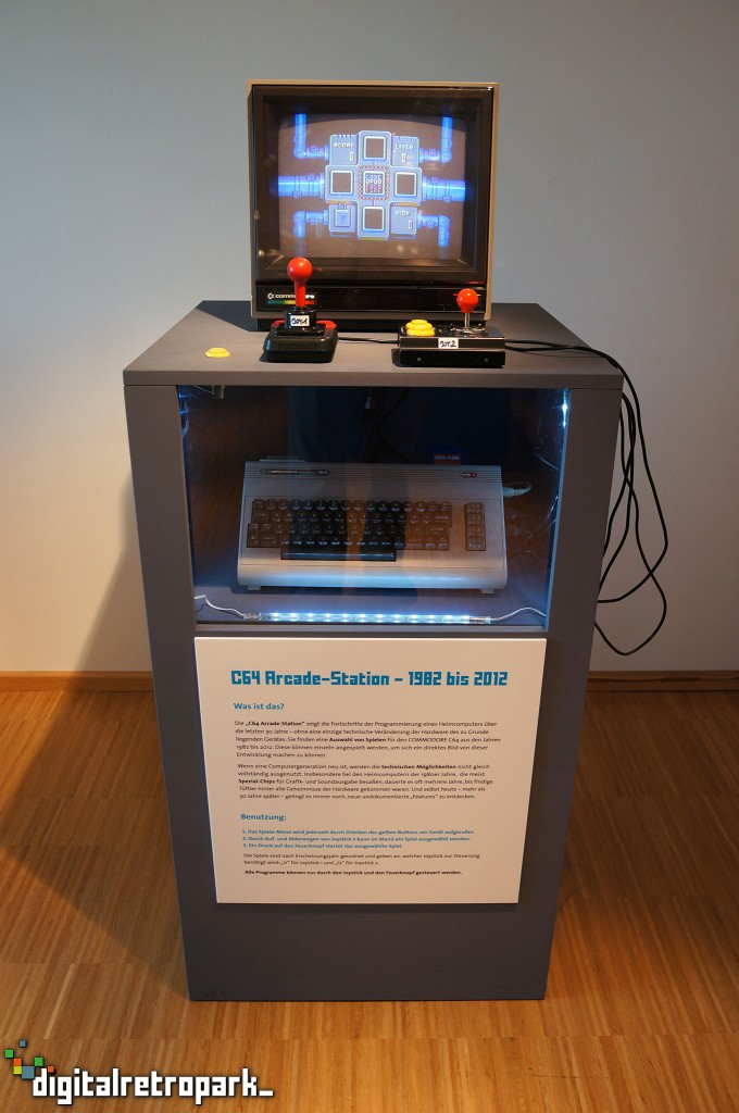 10 C64 Station