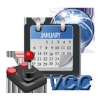 Logo Vintage Computer Calendar